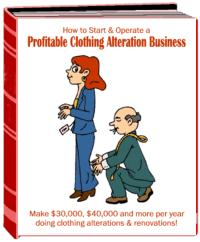 start a profitable clothing alteration business