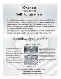 oneness: power of self forgiveness mp3