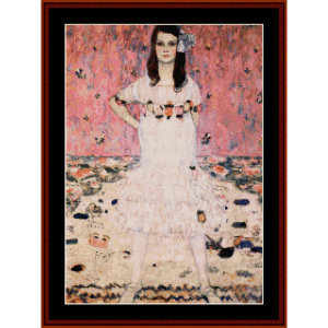 mada primavesi - klimt cross stitch pattern by cross stitch collectibles