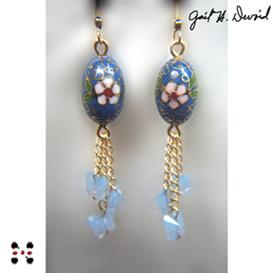 karner blue butterfly earrings