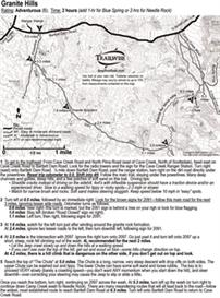 Granite Hills Cave Creek Scottsdale Arizona 4x4 Jeep Trail Map Guide B | eBooks | Outdoors and Nature