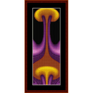 Fractal 162 Bookmark cross stitch pattern by Cross Stitch Collectibles | Crafting | Cross-Stitch | Other