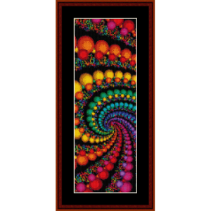 Fractal 156 Bookmark cross stitch pattern by Cross Stitch Collectibles | Crafting | Cross-Stitch | Other
