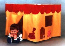 Childrens Portable Playhouse Pattern | eBooks | Arts and Crafts
