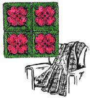 Crocheted Dogwood Afghan Pattern | eBooks | Arts and Crafts