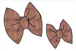 beautiful bow pillow pattern