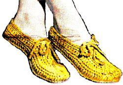 elegant summer slippers crochet pattern