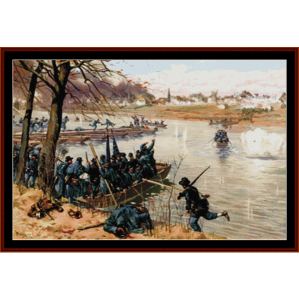 Battle of Fredericksburg - Civil War cross stitch pattern by Cross Stitch Collectibles | Crafting | Cross-Stitch | Wall Hangings