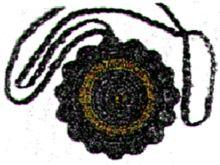 medallion necklace crochet pattern