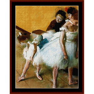 The Dance Examination - Degas cross stitch pattern by Cross Stitch Collectibles | Crafting | Cross-Stitch | Other