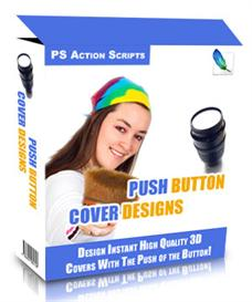 push button cover designs package - master resell rights