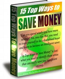 15 top ways to save money - private label rights