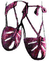 summer sandals crochet pattern