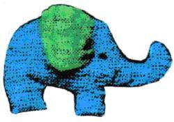 Crinkle Elephant Toy Pattern | eBooks | Arts and Crafts