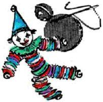 Scrap Clown Pattern | eBooks | Arts and Crafts