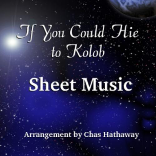 First Additional product image for - If You Could Hie to Kolob - Piano Sheet Music