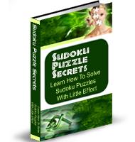sudoko puzzle secrets