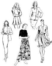 Make Your Own Skirt Patterns | eBooks | Arts and Crafts