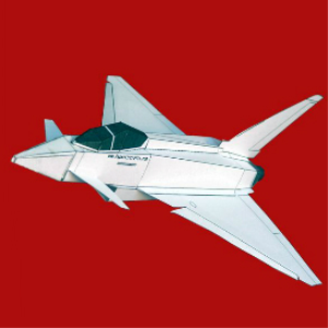 Paper Eurofighter White | Crafting | Paper Crafting | Paper Models