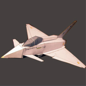 Paper Eurofighter Spanish | Crafting | Paper Crafting | Paper Models