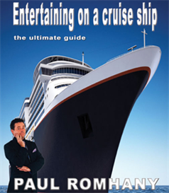 entertaining on a cruise ship