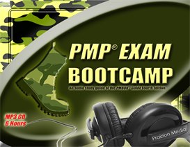 pmp bootcamp - 6 hour pmbok guide audio prep (5th edition based)
