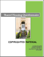 shared housing questionnaire