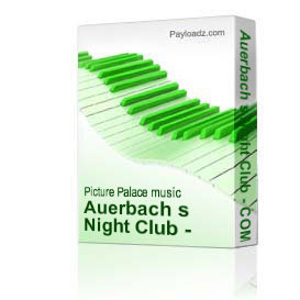 auerbach s night club - complete