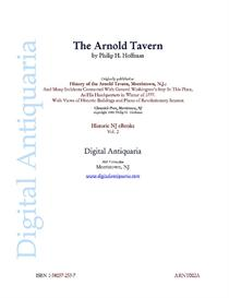 the arnold tavern: morristown, nj (1903)