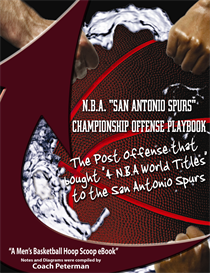 n.b.a. san antonio spurs championship offense playbook