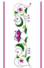floral drink sleeves