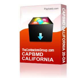 capbmd california 20-day preliminary notice form private and public works