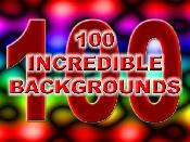 100 Incredible Backgrounds | Software | Software Templates