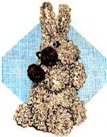 Loop Stitch Bunny Crochet Pattern | eBooks | Arts and Crafts