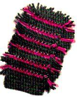 Striped Dusting Mitt Crochet Pattern | eBooks | Arts and Crafts
