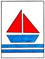 Sailboat Wall Hanging Pattern | eBooks | Arts and Crafts