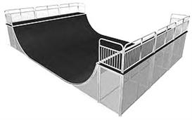 Skateboard half +Quarter pipe,ramps,Grind Rail plans | eBooks | Arts and Crafts