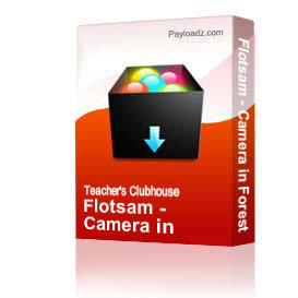 flotsam - camera in forest