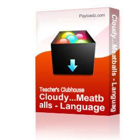 Cloudy...Meatballs - Language | Other Files | Arts and Crafts