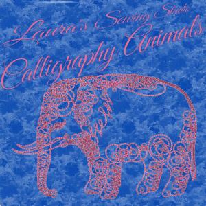 laura's calligraphy animals hus