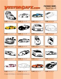 Stock Car Vector Clip Art #1 | Other Files | Clip Art
