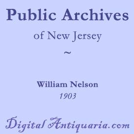 The Public Archives of New Jersey | eBooks | History
