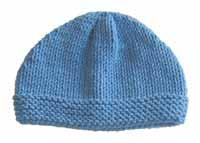 #17 easy adult beanie pdf pattern from sweaterbabe.com