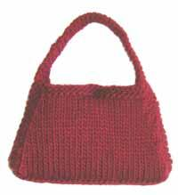 #19 hip knit purse pdf pattern from sweaterbabe.com