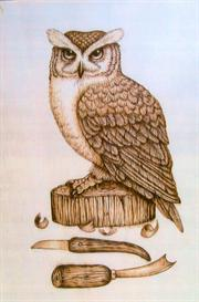 Carvers Owl pattern | Other Files | Arts and Crafts