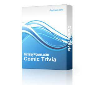 Comic Trivia | Software | Games