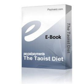 the taoist diet