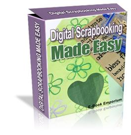 Digital Scrapbooking Made Easy ebook Resale Resell ! | eBooks | Arts and Crafts