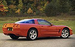 1997 chevrolet corvette mvma specifications
