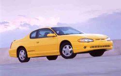 1997 chevrolet monte carlo mvma specifications